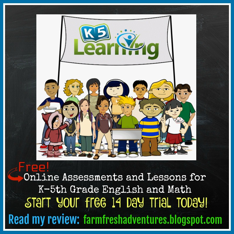 Farm Fresh Adventures: K5 Learning ~ Online Assessments and Lessons ...