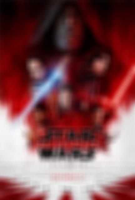 poster STAR WARS: Gli Ultimi Jedi sfocato