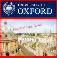 Universitas Oxford Membuka Kuliah Online Gratis