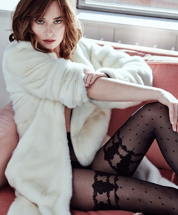 Dakota Johnson Marie Claire Magazine Hot Photoshoot