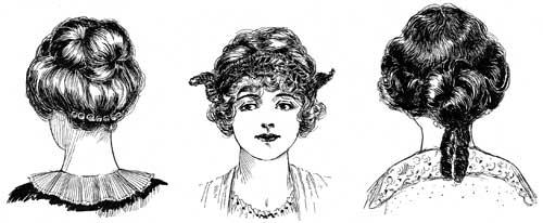 Remarkable Devilinspired Gothic Victorian Dresses The Gorgeous Victorian Short Hairstyles Gunalazisus