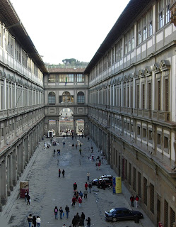 Photo of the Uffizi
