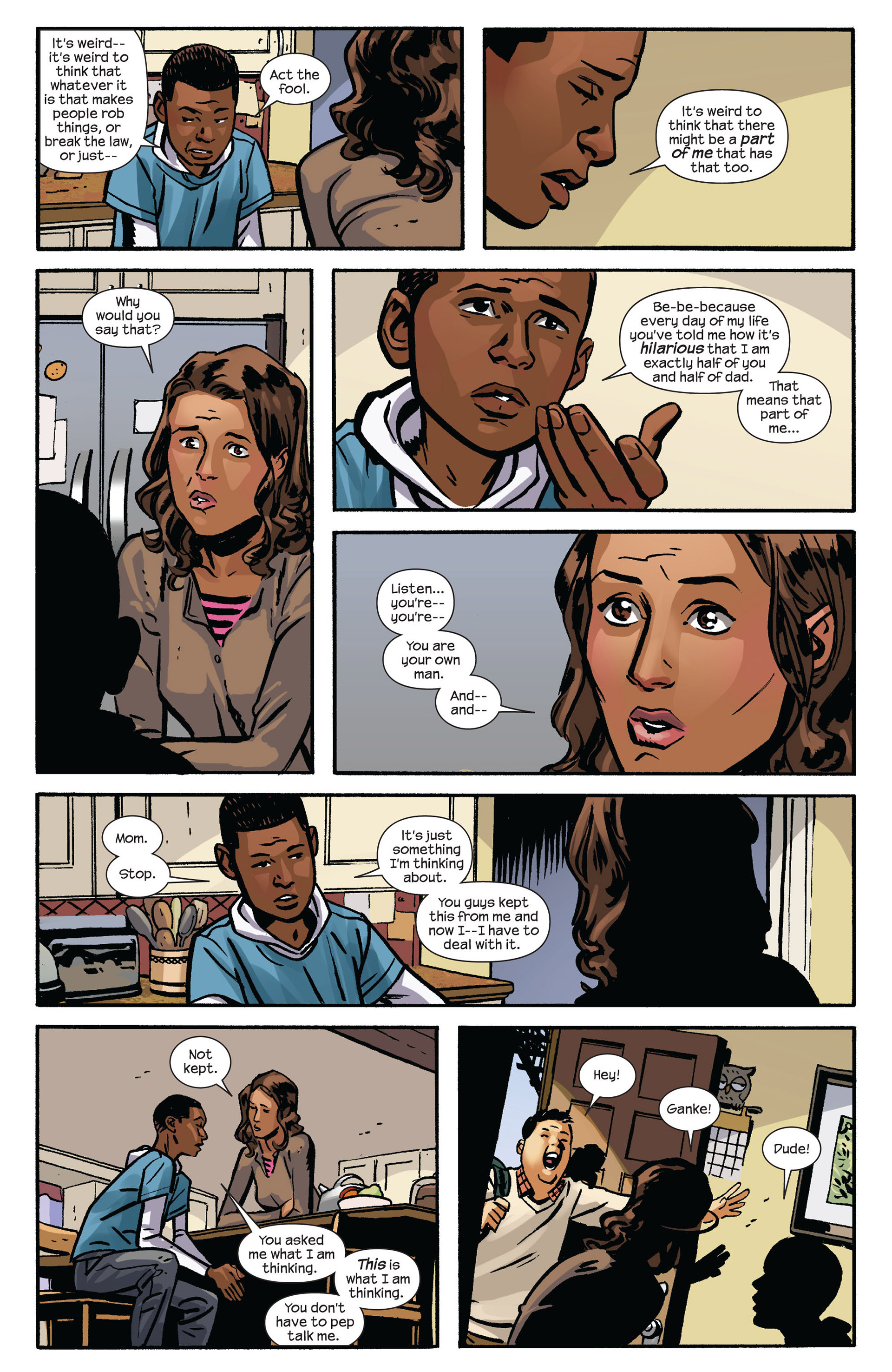 Read online Ultimate Comics Spider-Man (2011) comic -  Issue #6 - 17