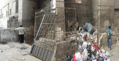 القمامة فى ربع السلطان قايتباى
