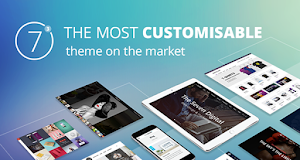 The7 is one of the most customisable WordPress theme