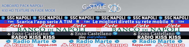 PES 2016 Napoli Adboard Pack