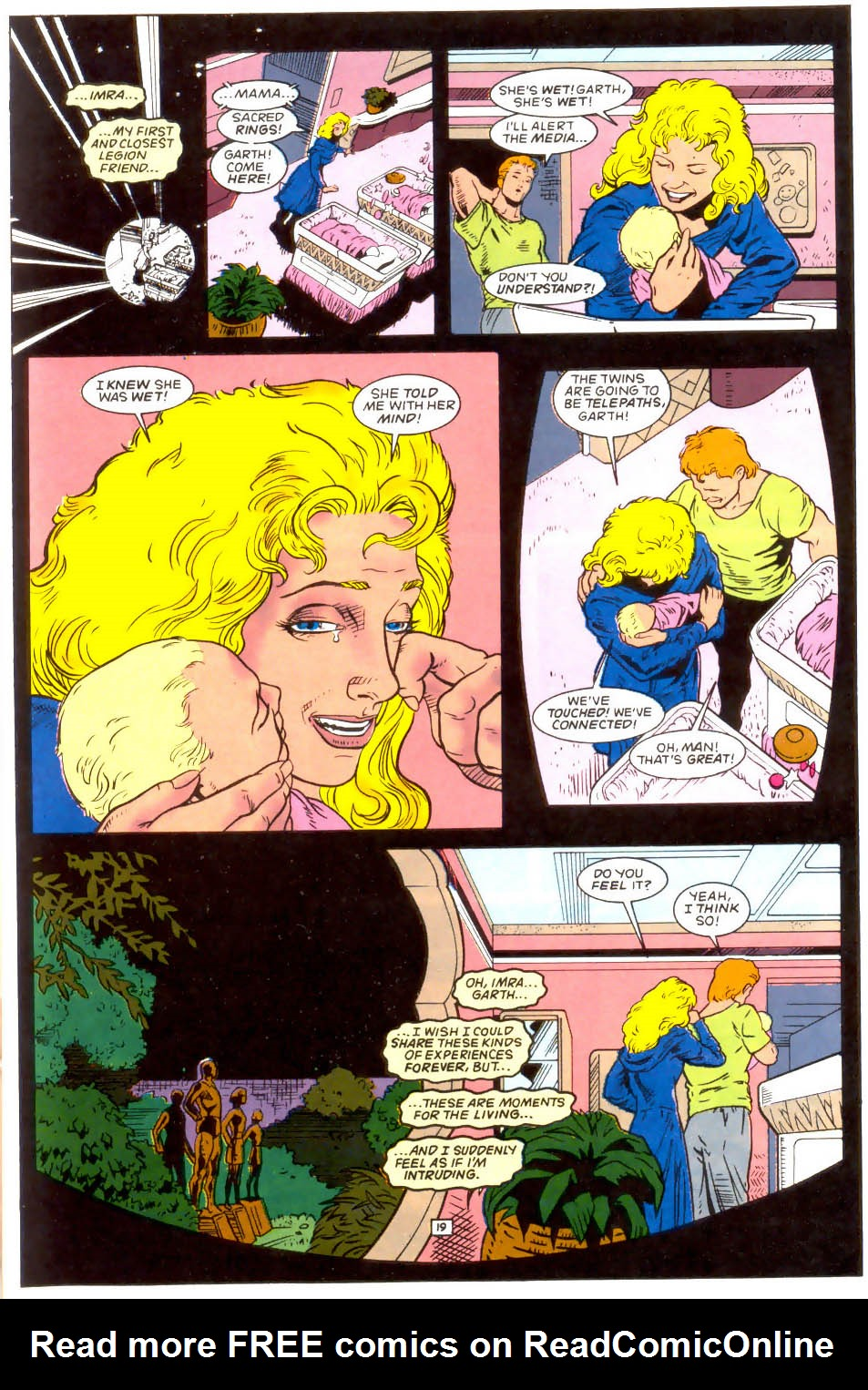Legion of Super-Heroes (1989) 50 Page 19