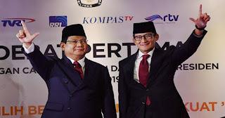 Hasil Pilpres 2019, Prabowo-Sandi Menang dengan Selisih 5 Juta Suara Lebih di Jawa Barat