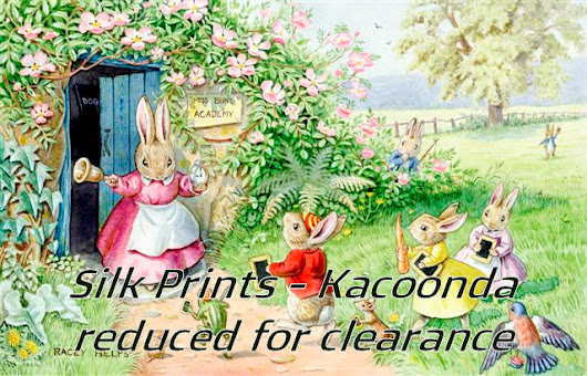 CLEARANCE OF SILK PRINTS