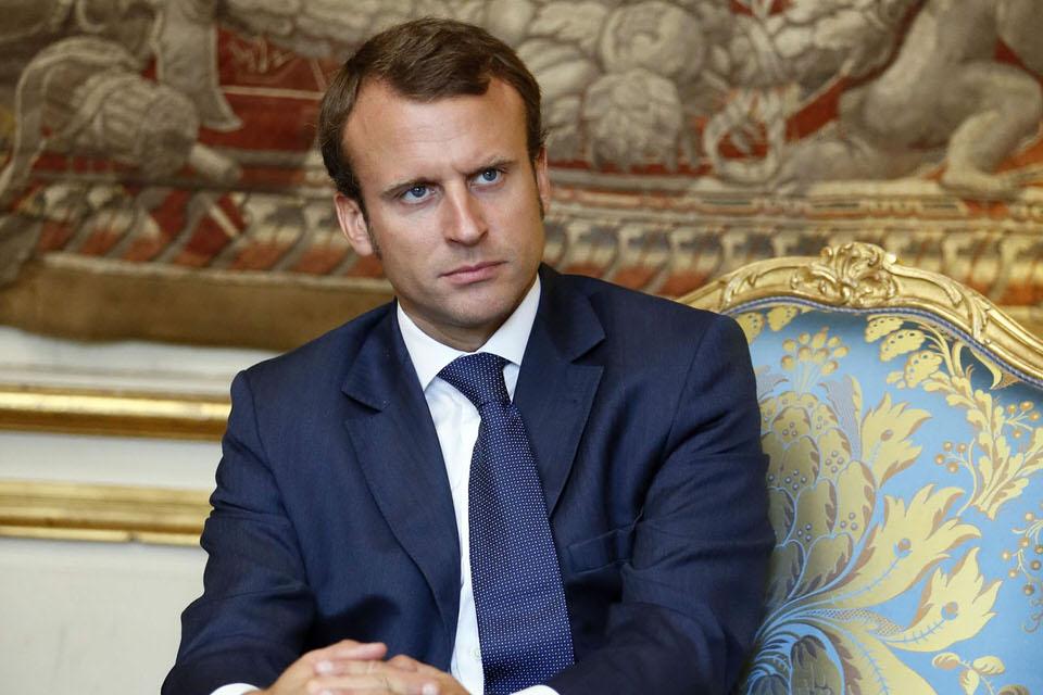Ο Εμμανουήλ Μακρόν, ο οποίος δεν κατείχε ποτέ εκλεγμένο αξίωμα, είναι ο βασικός αντίπαλος της Λε Πεν
