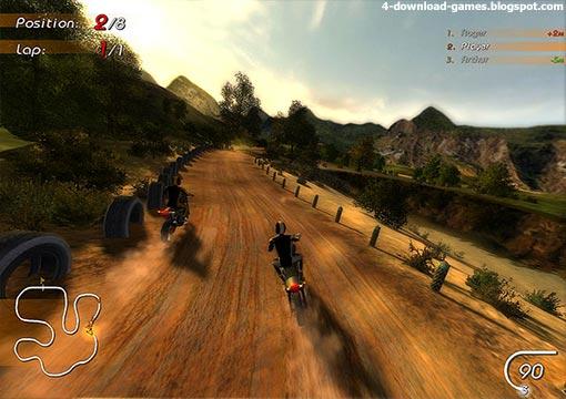 لعبة سباق الموتوسيكلات السوبر Super Moto Racers