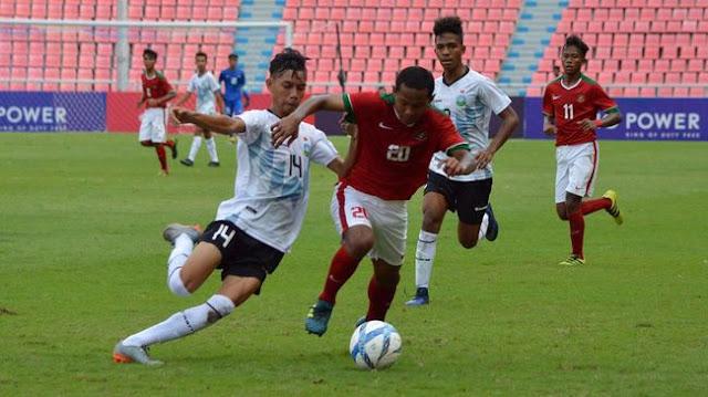KLASEMEN SEMENTARA PIALA AFC U-16 : TIMNAS INDONESIA U-16 BERADA DI PUNCAK GRUP