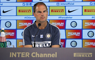 Conferenza stampa video De Boer Inter Juventus Serie A