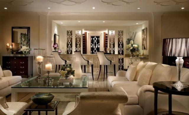 ruang tamu yang modern
