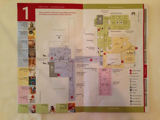 Chicago Art Institute Floor Plan
