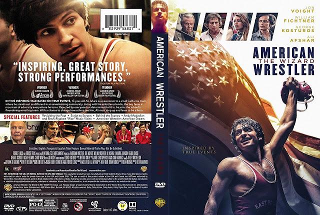 American Wrestler: The Wizard DVD Cover