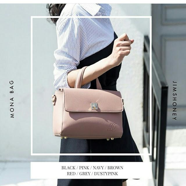 Jims Honey Mona Bag Dusty Pink