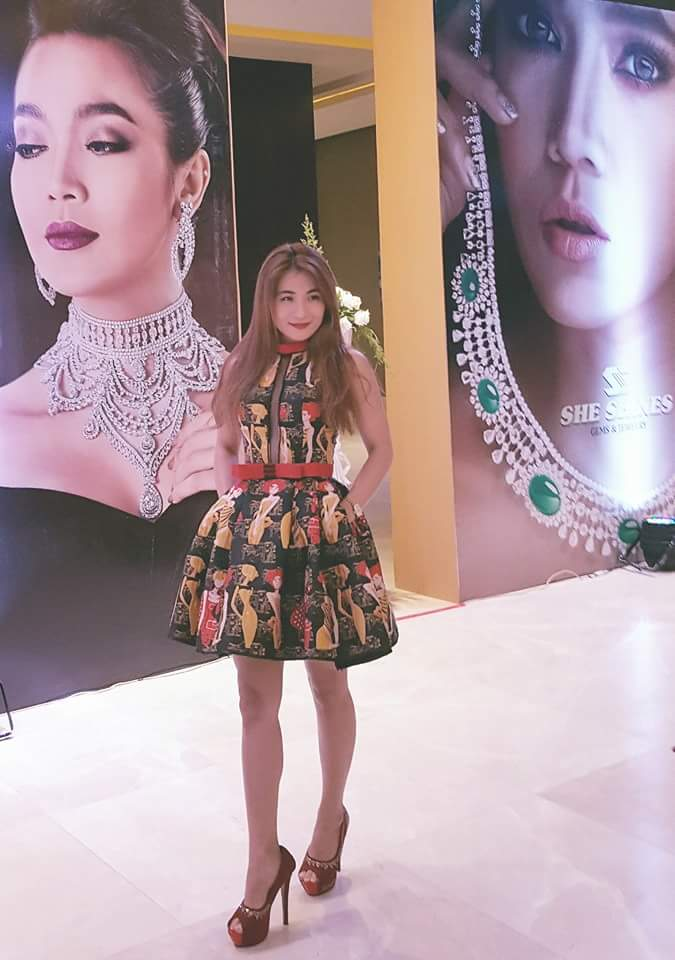 Khin Lay Nwe Attends Book Launching Ceremony of Moe Hay Ko