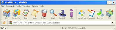 WinRAR Cartoon theme Snapshot