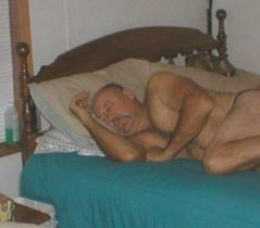 male genital odor, naked sleeping