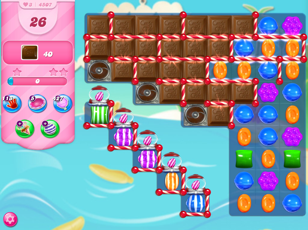 Candy Crush Saga level 4507
