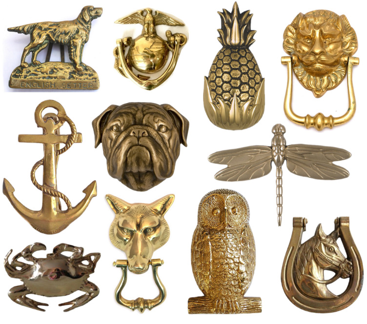 Iu0027ve Always Loved Brass Door Knockers And Believe Itu0027s A Fun Way To Add  Personality To A Front Door. Here Are A Few Favorites.
