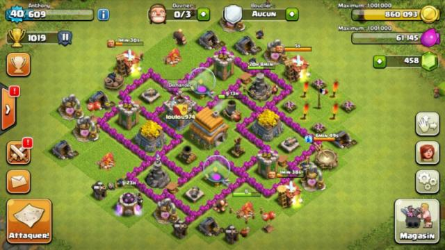 Clash Of ClanComment Faire Un Bon Village Farming Hdv 5