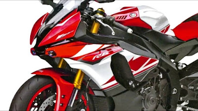 All New 2016 Yamaha YZF-R6 red colour