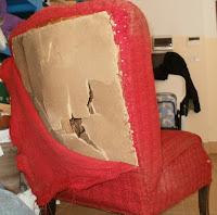 jak odnowić fotel na sprężynach