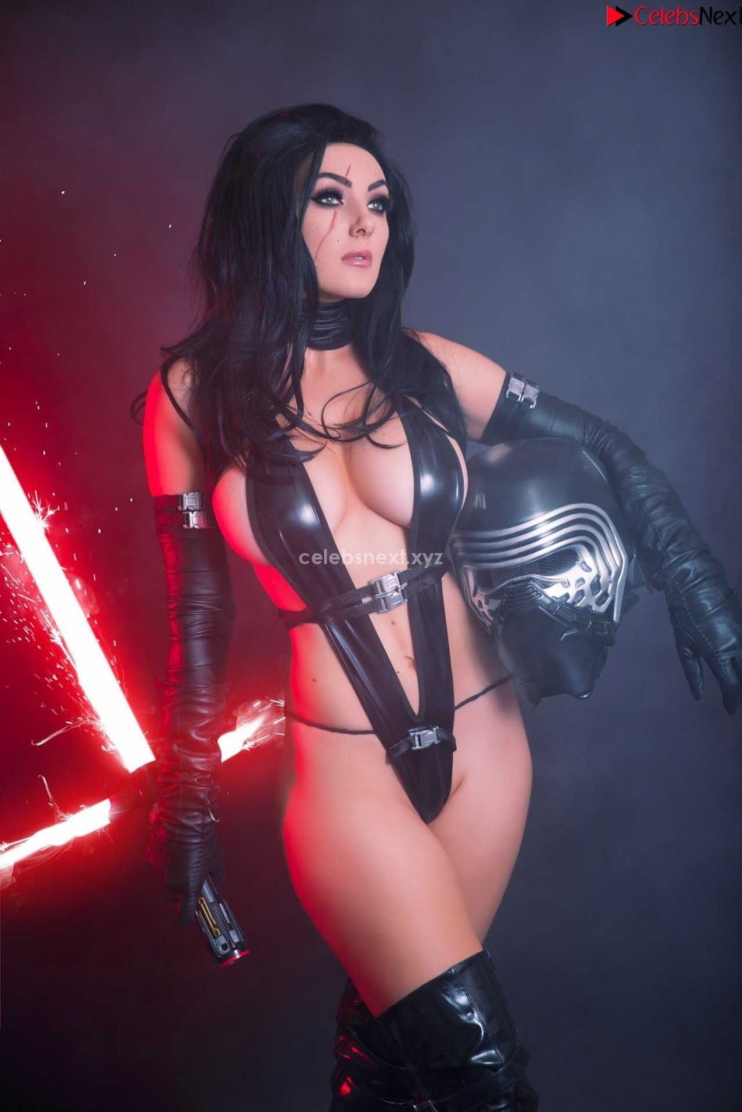 Jessica Nigri Exposing her Ass and Booty Hole playing Cosplay Augsust 2018 WOW ~ CelebrityBooty.co Exclusive Celebrity Pics