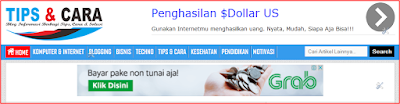 screenshot dari snipping tool