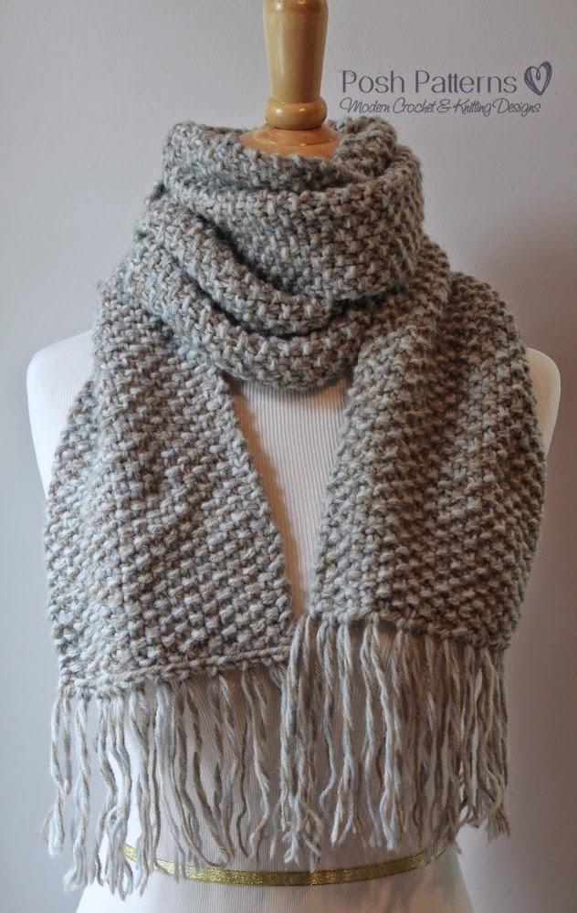Posh Patterns Easy Crochet Patterns and Knitting Patterns ...