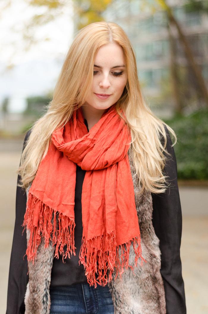 faux fur, fall style, fall fashion, winter style, vancouver fashion blog