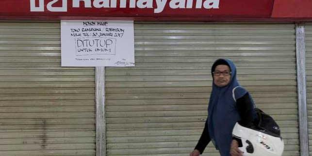 Delapan Gerai Ramayana Stop Operasional, Apakah ini Gejala Krisis Ekonomi?