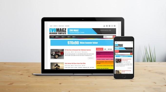 Evo Magz v4.9 - Responsive Blogger Template