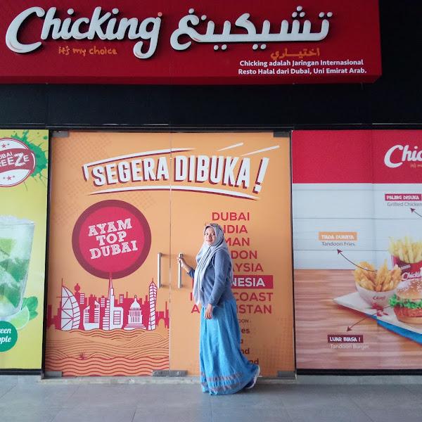 Chicking Ayam Top Dubai Fast Food Halal Rasa Timur Tengah