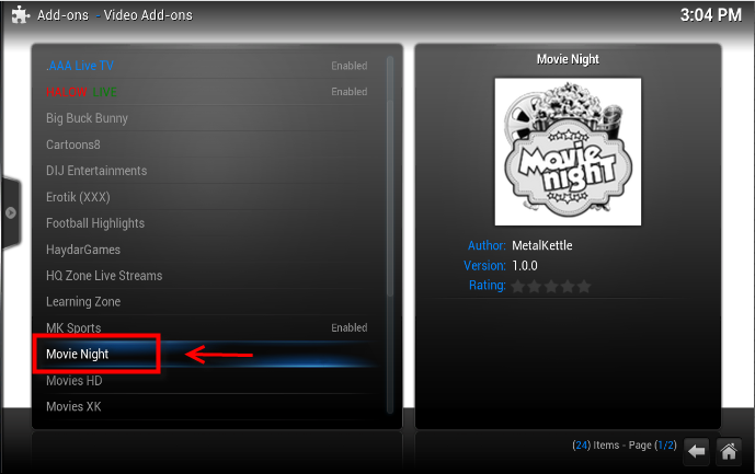 how to watch movies on xbmc android