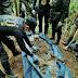 NPA mass grave uncovered in Bukidnon