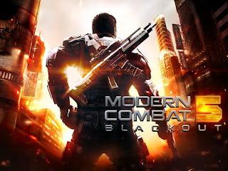 لعبة Modern Combat 5: Blackout.