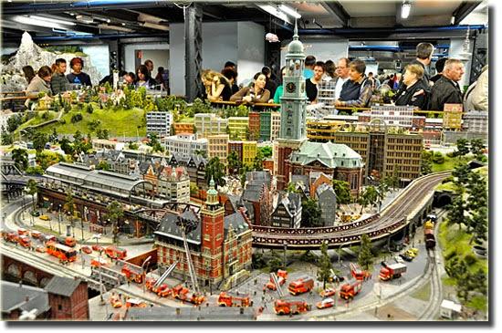 Miniatur Wunderland - Maquete - Maior Cidade em Miniatura do mundo