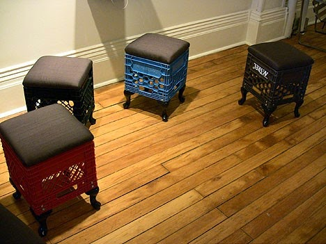 Amazing 15 Ways To Upcycle Milk Crates Thee Kiss Of Life Upcycling Onthecornerstone Fun Painted Chair Ideas Images Onthecornerstoneorg
