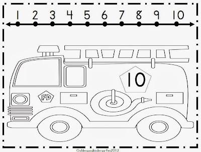 Chalk Talk: A Kindergarten Blog: Firefighter Math Activities