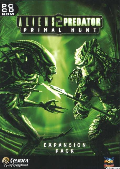 alien vs predator 2 primal hunt expansion pack