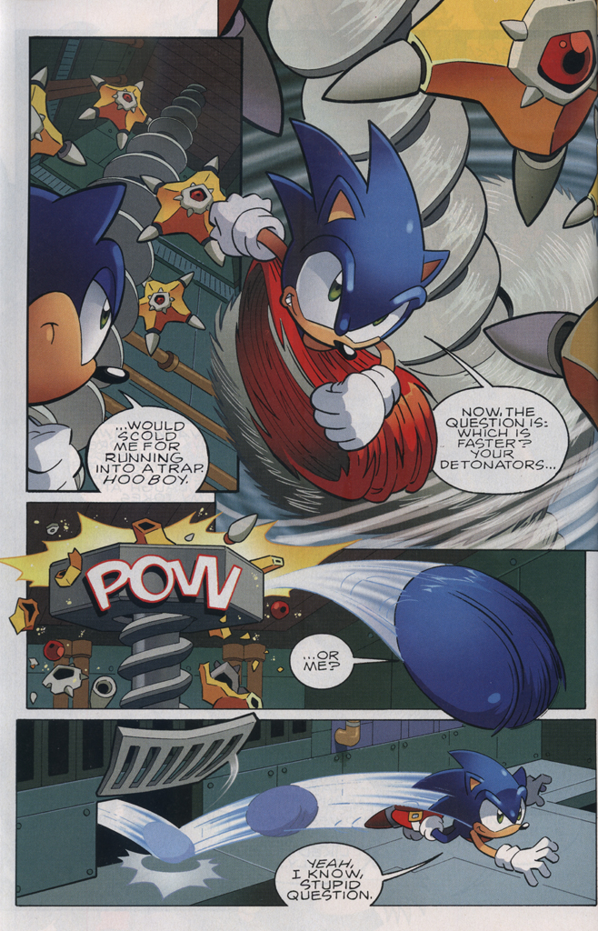 Read online Sonic The Hedgehog comic -  Issue #229 - 12