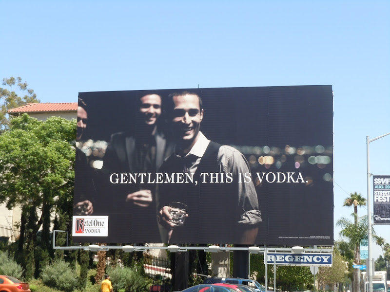 Ketel One vodka bilboard