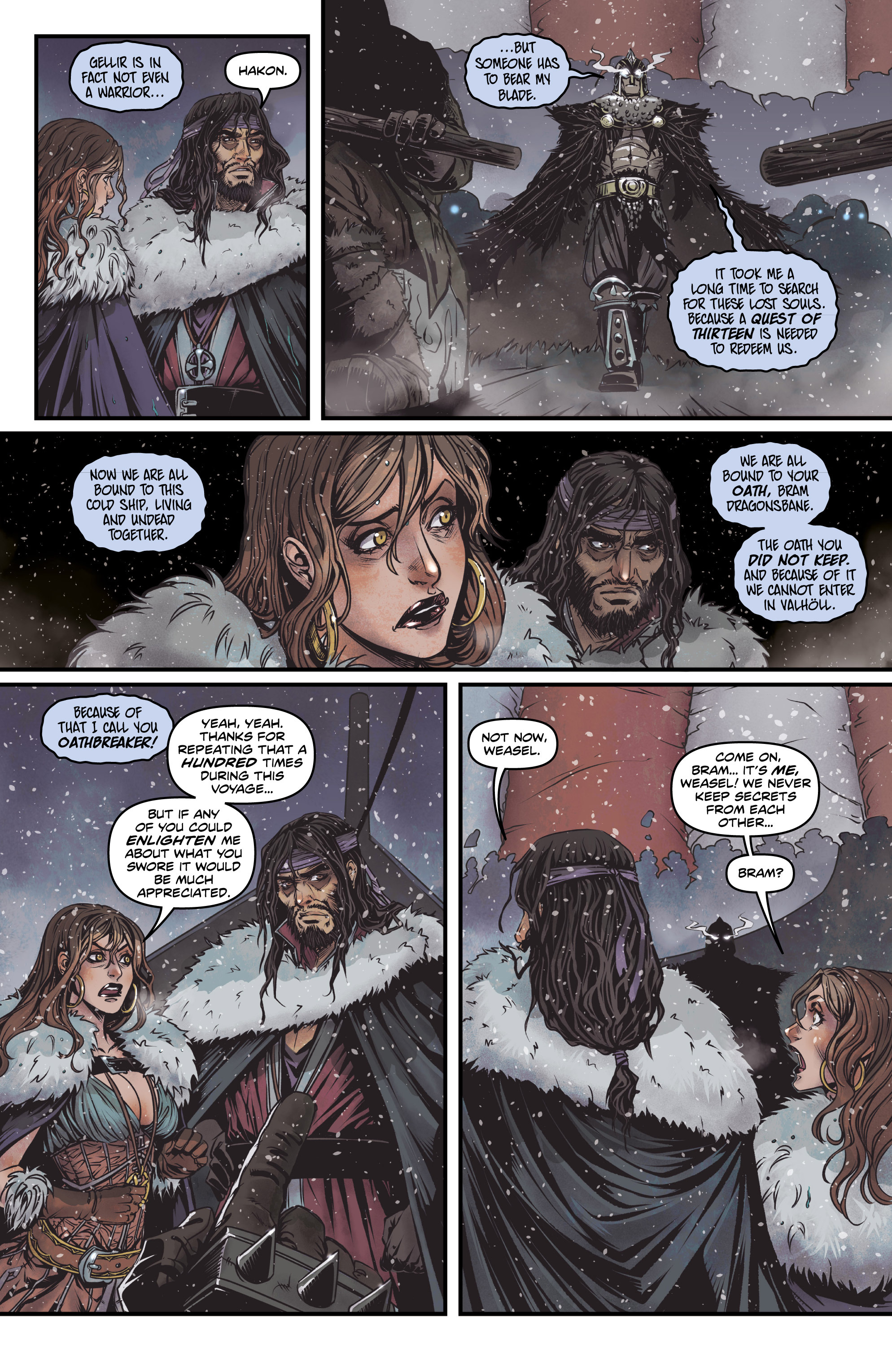 Read online Rogues! (2014) comic -  Issue #2 - 7