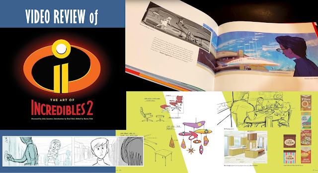 Art of Incredibles 2 book review