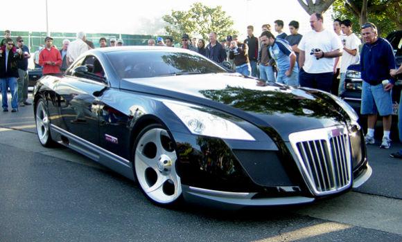 Automotive Auto Maybach Exelero