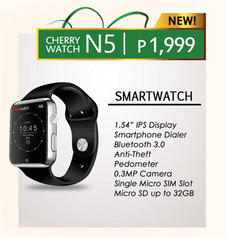 Cherry Mobile N5 Smart Watch features Anti-theft, Pedometer and More