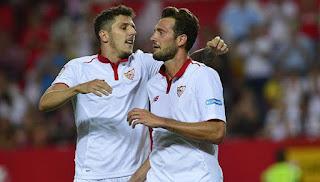 Sevilla Menutup Musim dengan Kemenangan Besar
